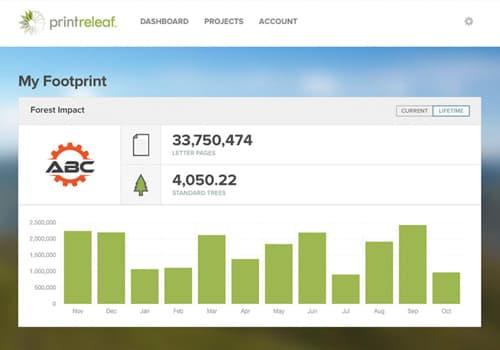PrintReleaf-Dashboard