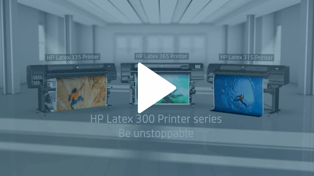 HP Latex Video Snap Shot