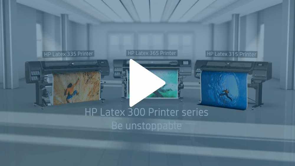 HP Latex Video Snap Shot