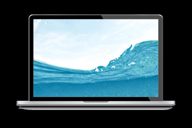 computer-wave